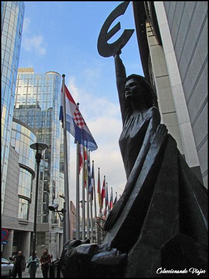 estatua euro