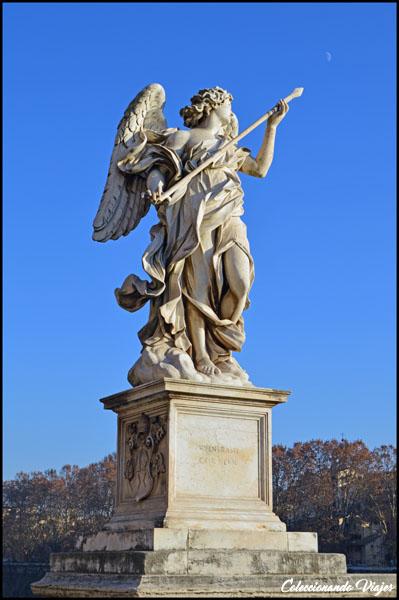 estatua puente sant angelo