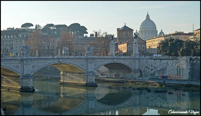 vistas puente sant angelo