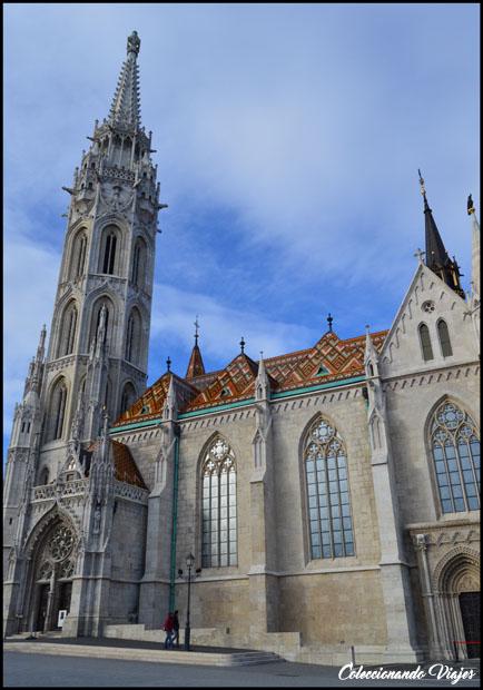 iglesia de matias exterior