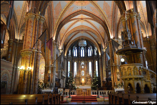 iglesia de matias interior