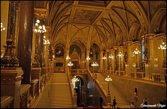 parlamento budapest interior