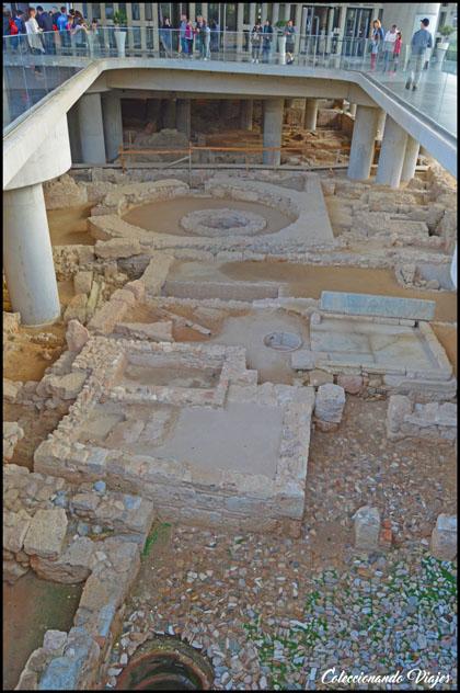 ruinas museo acropolis