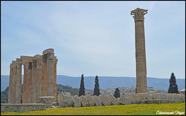 columna templo zeus olimpico