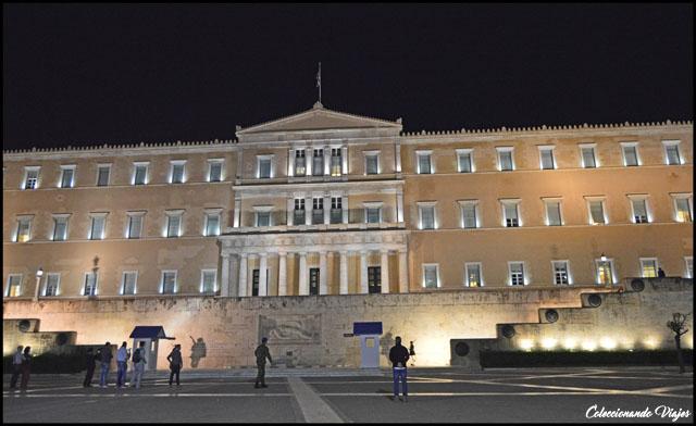 parlamento iluminado