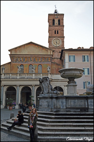 basilica santa maria trastevere