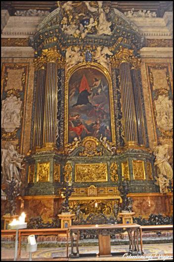 chiesa gesu altar