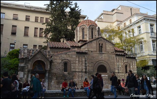 iglesia de kapnikarea